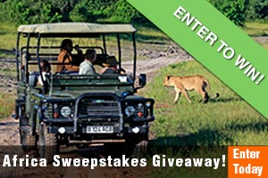 Enter our South African Sweepstakes