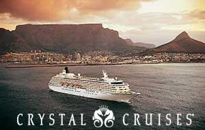 crystal cruises south africa